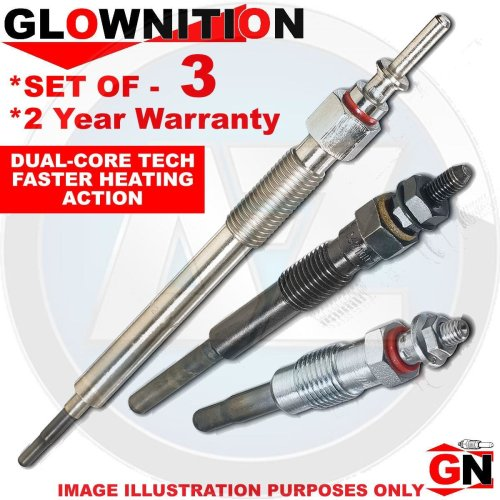 Audi Diesel Heater Ignition Glow Plugs Plug Set (X3)