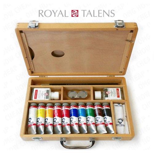 Royal Talens - Van Gogh Acrylic Paint Artist Set in Premium Wooden Case