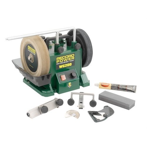 Record Power 33200 WG200 Wet Stone Grinder 200mm (8in)