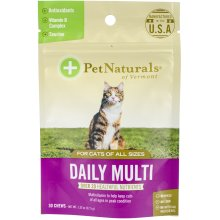 Daily Multi Chews For Cats 30/Pkg-