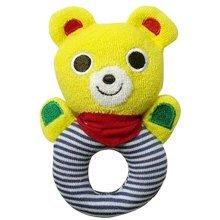 Fashion Baby Educational Toys Hand Animal Rattle Khaki