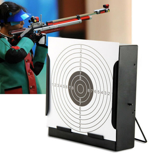 14cm Card Funnel Target Holder Pellet Trap 100 Targets For Air Rifle/Airsoft NEW