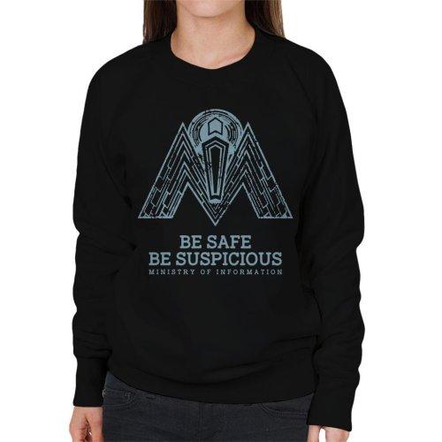 Ministry Of Information Logo Women's Sweatshirt