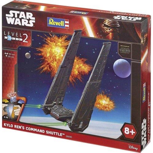 Revell Star Wars EasyKit Episode Vii The Force Awakens, Kylo Ren's Command Shuttle