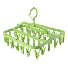 Multifunction Multi Clip Clothes Stand Drying Racks Baby Clothes Tree-G