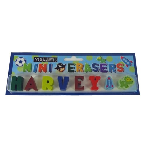 Childrens Mini Erasers - Harvey