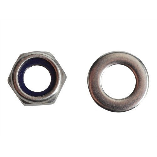 Forge FPNYLOC6SS Nyloc Nuts & Washers A2 Stainless Steel M6 Forge Pack of 20