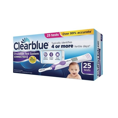 Clearblue Connected Ovulation Test System - 25 Tests