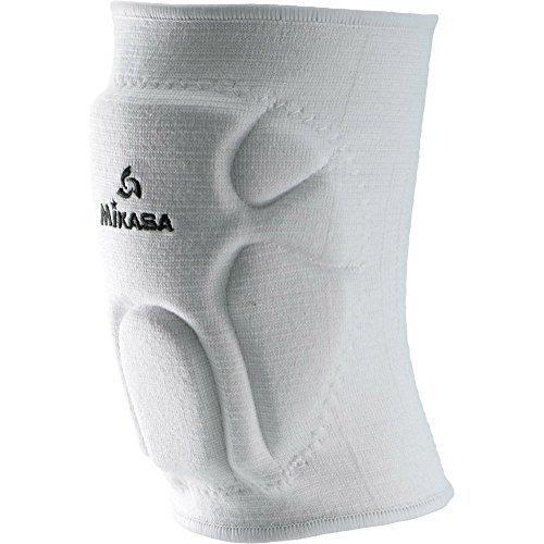 Mikasa 830JR Competition Antimicrobial Kneepad, White