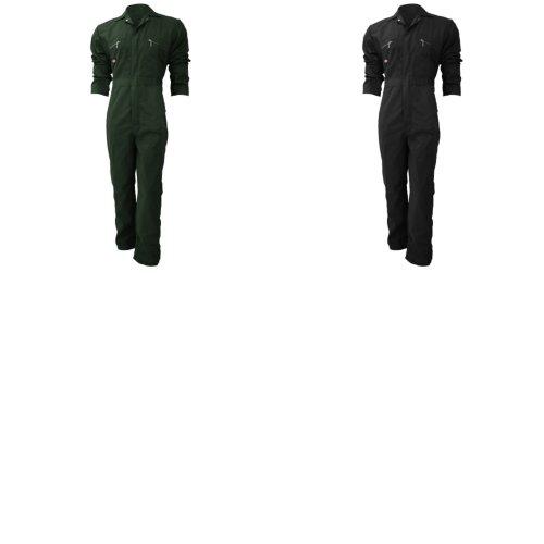 Dickies Redhawk Zip Front Coverall Regular / Mens Workwear (Pack of 2)