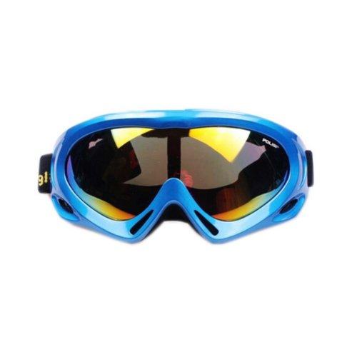 Men/Women's Ski Goggles Colorful Coated Lens Sport Goggles UV-blocking Blue