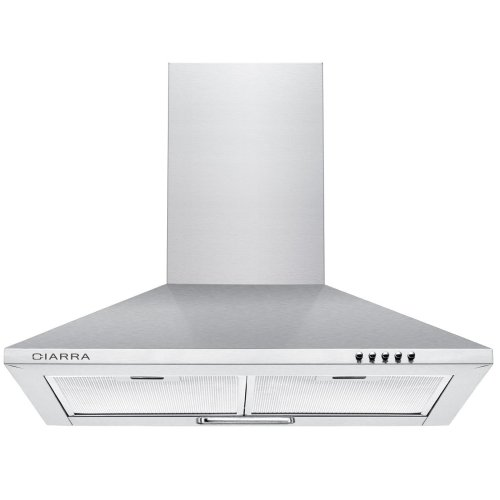 Kitchen Extractor Fan | 60cm Stainless Steel Chimney Cooker Hood 600mm Range Hood Kitchen