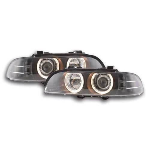 Angel Eye headlight  BMW serie 5 E39 Year 95-00 black
