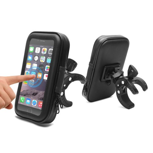 AEMIAO Bicycle Bag Bike Pouch, Cycling Pannier Top Tube Waterproof Handlebar Bags, Bicycle Bike Bag Touch Screen Compatible for Smartphone Up to...