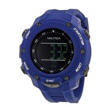 Nautica Yachttimer NMX Digital Watch 56 mm Blue