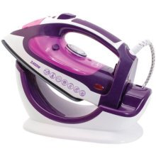 2400W Steam Iron & Stand Plate | 2-in-1 Clothes Iron