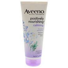 Aveeno Positively Nourishing Lavender And Chamomile Calming Body Lotion, 7 Fl. Oz