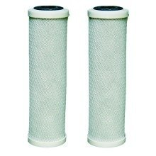 "2 X Carbon Water Filter Cartridges Fits All 10"" Housings for Ro Reverse Osmosis"