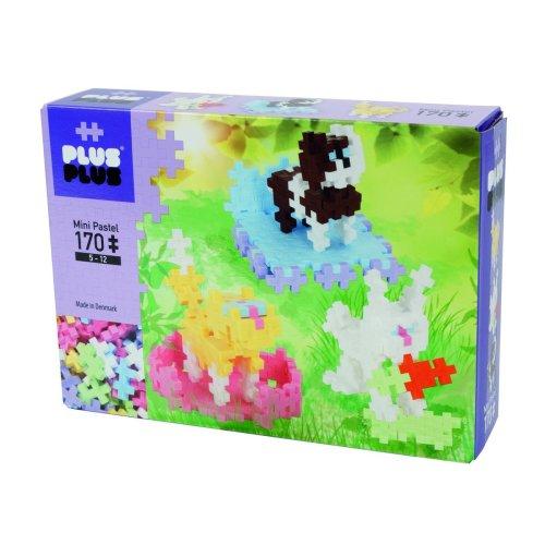"""Plus-Plus """"Mini Pastel-Pets Building Blocks (170-Piece, Multi-Colour)"""