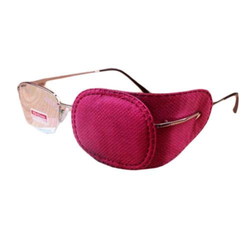 12PCS Amblyopia Eye Mask For Glasses Strabismus Lazy Eye Patches Medium-Rose Red