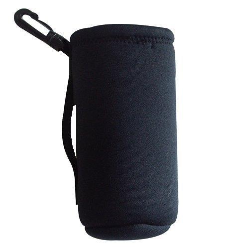 Intrepid International Neoprene Water Bottle Carrier Black