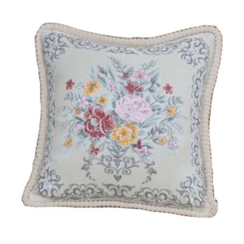 Elegant Decorative Pillows/Flower Pattern Sofa Pillow/Comfortable