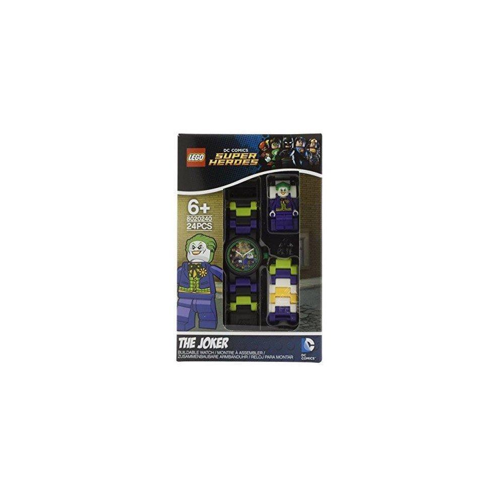 832fe509fcd ... Lego DC Universe Super Heroes The Joker Minifigure Link Children's  Quartz Watch - 3. >