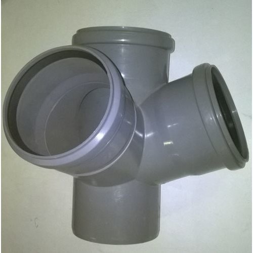 Soil Pipe 110 mm - Double Corner Branch With 2 x 67.5 Degree 110 mm Inlets