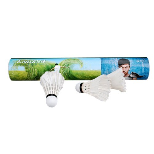 Outdoor Sports Equipment Durable Badminton Feather Shuttlecocks 1 Dozen