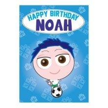 Birthday Card - Noah