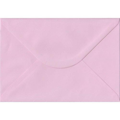 Baby Pink Gummed C5/A5 Coloured Pink Envelopes. 100gsm FSC Sustainable Paper. 162mm x 229mm. Banker Style Envelope.
