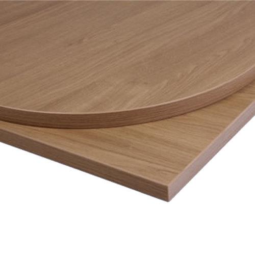 Taybon Laminate Table Top - Oak Round - 900mm