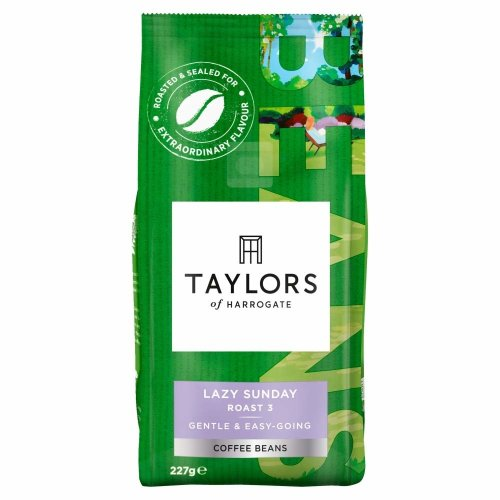 Taylors of Harrogate Lazy Sunday Coffee Beans, 227g (Pack of 6)
