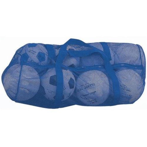 Olympia Sports BC084P 36 in. x 15 in. Zippered Mesh Bag - Blue