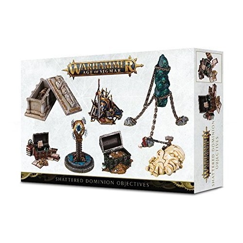 Games Workshop Warhammer Age of Sigmar Shattered Dominion Objective Markers