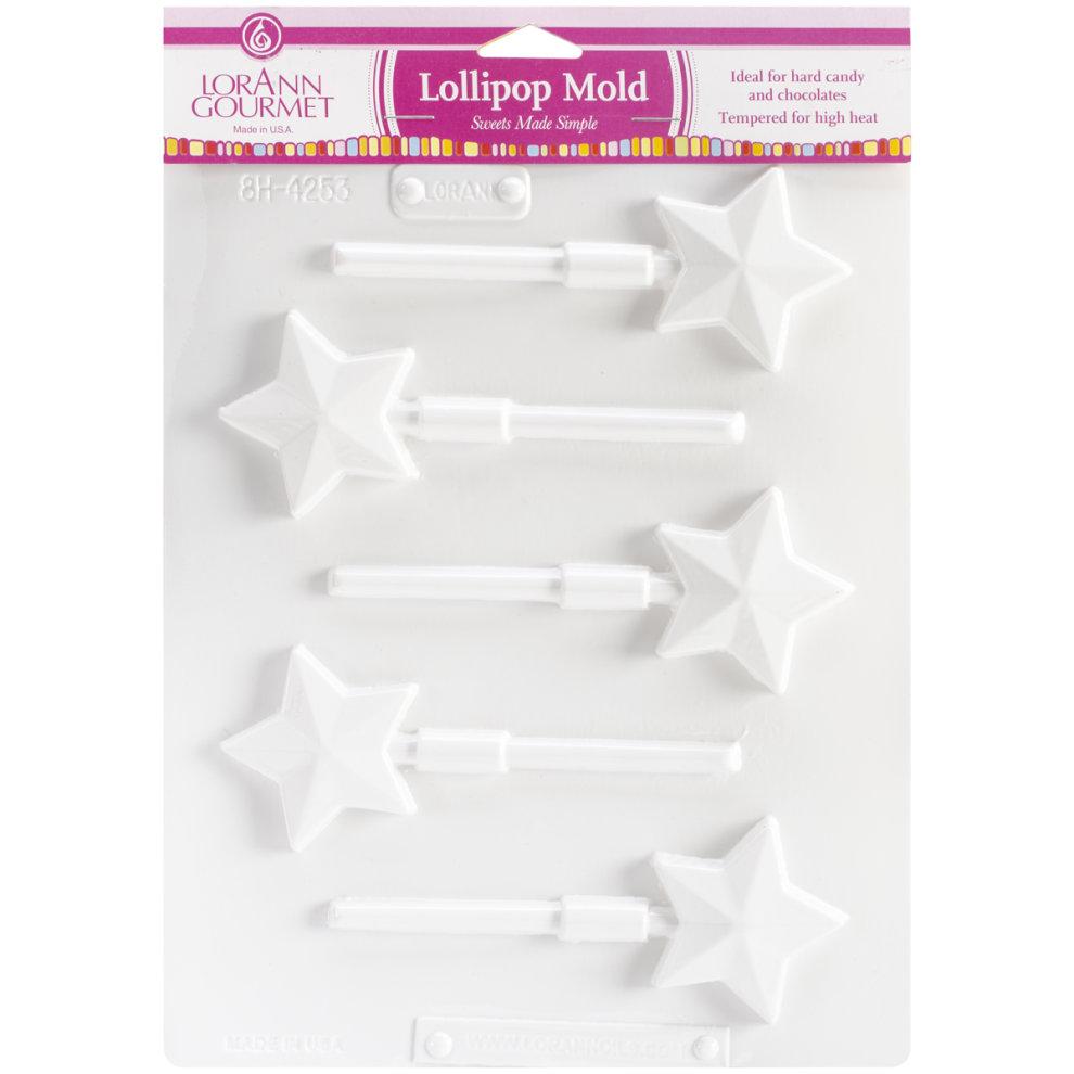 1 Design 6Pk Lorann Oils Breakup Candy Mold-Rectangle 64 Cavity