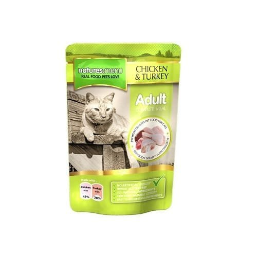 Natures Menu 100g Pouches Cat Food