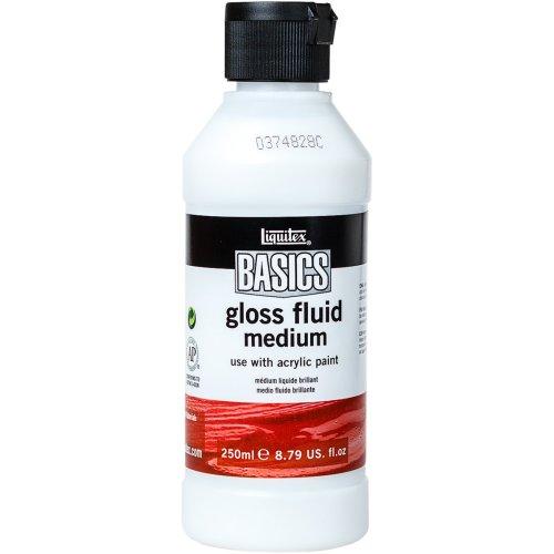 Liquitex BASICS Gloss Fluid Medium 250ml-