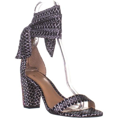 I35 Kanata2 Wrap Up Heeled Sandals, Multi Afri, 7 UK