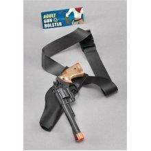 Adult's Cowboy Holster Gun Set - Fancy Dress Adult Wild West Accessory Western -  fancy dress cowboy adult holster wild west accessory set western