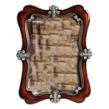 6-inch Photo Frame Vintage Style Brown Photoframe and Home Decoration