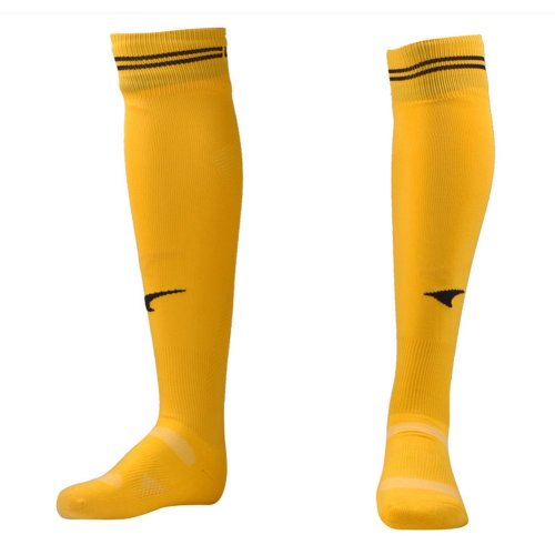 Knee Length Quick Dry  Football Socks for Adult/Youth(Yellow)