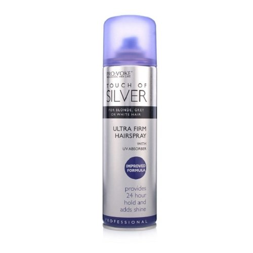 Touch Of Silver Ultra Firm Hairspray 250ml