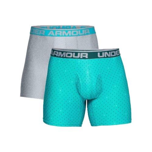Under Armour Orginal 6'' Boxerjock 2 Pack 1299994-716 Mens Blue boxer shorts Size: S