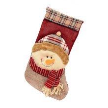 Large Creative Children Christmas Stockings Gift Bag- Lovely Santa Claus