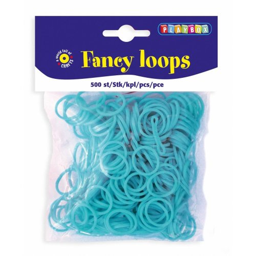 PBX2471093 - * Playbox - Loops (Loom Bands) - 500pcs lt blue