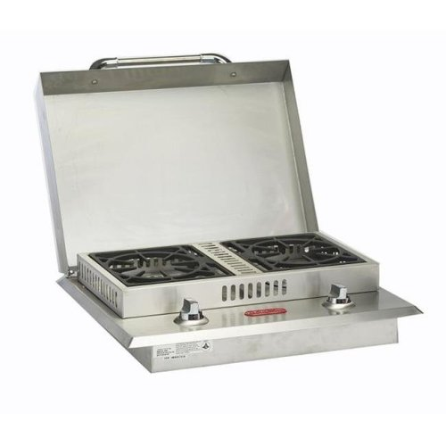 Bull Outdoor Products 60099 Double Side Burner Natural Gas - Stainless Steel