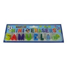 Childrens Mini Erasers - Samuel