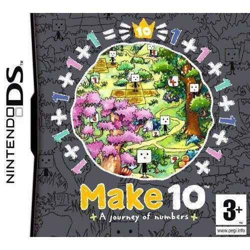 Make 10 Journey of Numbers Nintendo DS Game