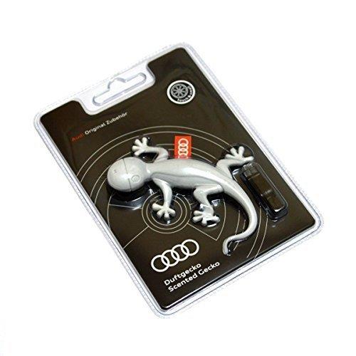 Audi 000087009A Gecko Air Freshener, Light Grey, Orange Fragrance